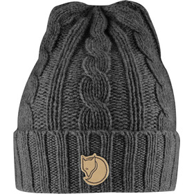 Fjällräven Braided Knit Hat dark grey